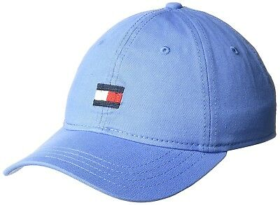 ce18f67b117 100% Cotton Tommy Hilfiger Men s Ardin Dad Baseball Cap Bright Blue  Imported New