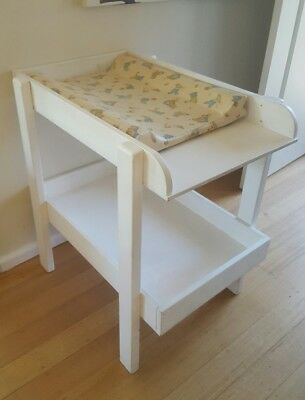 Handmade Baby Change Table