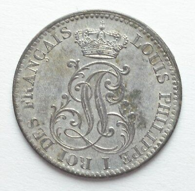 RARE COIN SALE BARGAINS 1846 French Guiana 10 centimes great details