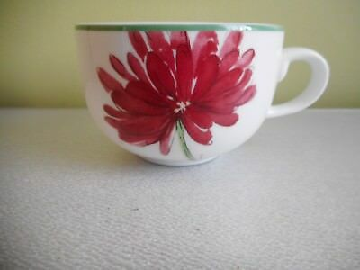St Andrews Abstract Floral Cup Multi Coloured Height 6Cm Diameter 9Cm