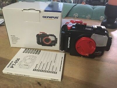 Brand New / Never Used PT-056 Underwater Housing Olympus Tough TG-3 and TG-4