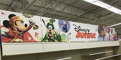 Disney Junior Store Display Sign TOYS R' US Large Banner Minnie Doc Sofia Daisy