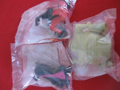 McDonald's Happy Meal toys. 3 Hotel Transylvania figurines: Mavis, Murray, Dracu