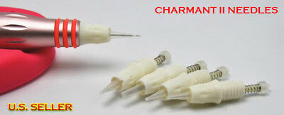 10 Charmant II Sterilized Disposable Permanent Makeup Eyebrow Lip Tattoo Needles