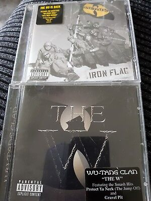 Wu-Tang Clan -  Iron Flag.(2001) & The w.(2000).   OFFER ENDS AT END OF MONTH.