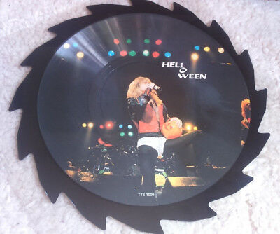 Helloween Limited Edition Interview Picture LP 1989 Gamma Ray Iron Maiden