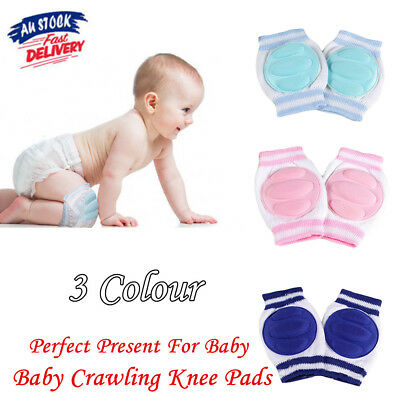 Unisex Baby Infant Toddler Crawling Knee Pads Safety Cushion Pad Protector Au
