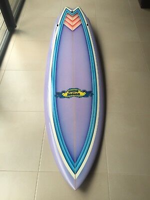 G&S Gordon and Smith Surfboard Custom Series G&S Vintage Surfboard Twin Fin