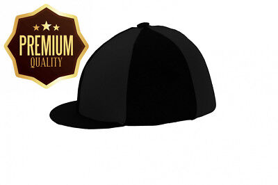 Hy Black Riding Hat Silk Cover (One Size)