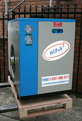 398cfm Refrigerated Compressed Air Dryer - removes water from air compressor air