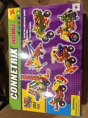 Children's Model Building Toy - Connetrix