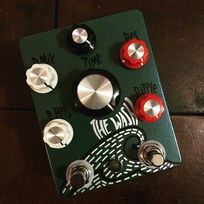 Hungry Robot Pedals - The Wash V2 Tap Tempo Delay & Reverb