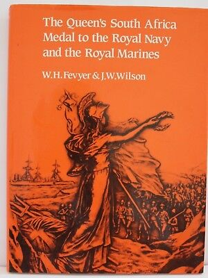Queens South Africa Medal To Royal Navy & Royal Marines Book