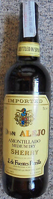 Original Spanischer Don Alejo Amontillado Medium Dry Sherry 750 ml 17% Vol.
