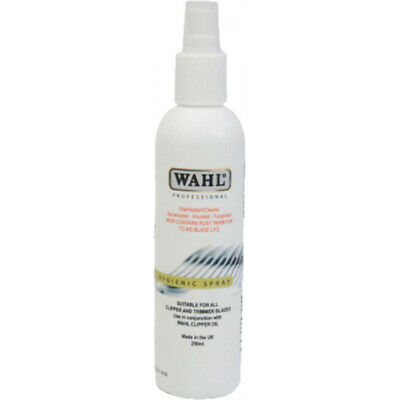 Wahl ZX495 Hygenic Spray Clipper Trimmer Disinfectant Cleaning Spray Freshner