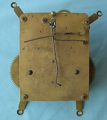 HAC Eight Day Hour and Half Hour Strike Mantel Clock Movement