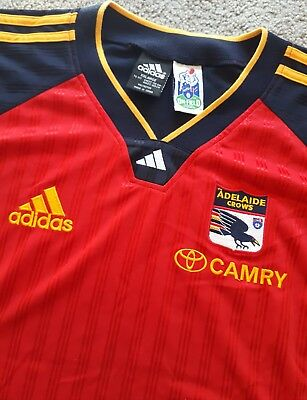 New Genuine Adidas ADELAIDE CROWS Supporter Top AFL Size XXL AFC