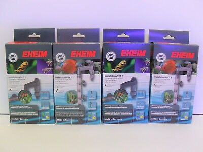 EHEIM INSTALLATION SETS 1 & 2, 12/16mm & 16/22mm. Aquarium Filter, Genuine Eheim