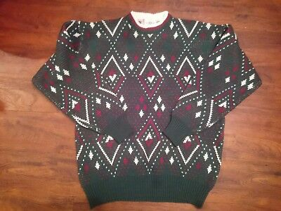 Vintage Christmas sweater size XL Jardeau