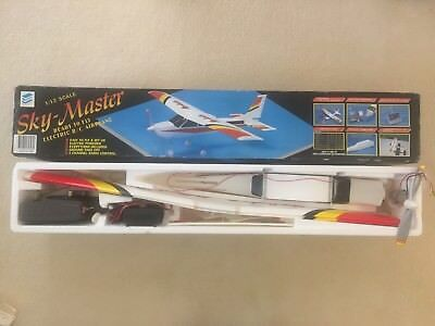 Sky - Master Ready to Fly Electric R/C Airplane 1 / 12 Scale (1990's model)