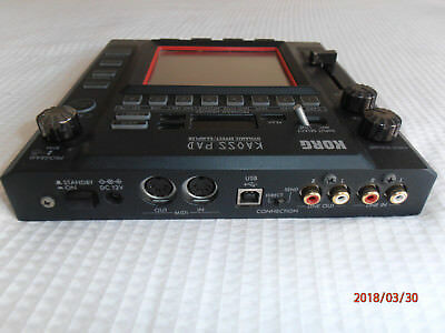 Korg Kaoss Pad KP3 - Great Condition with power cord and original box