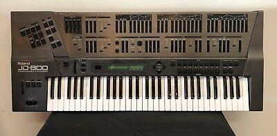 Roland JD800 90's Digital programmable Synthesiser
