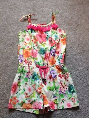 girls multi colour summer/holiday playsuit from next. Age 5. Fab condition.
