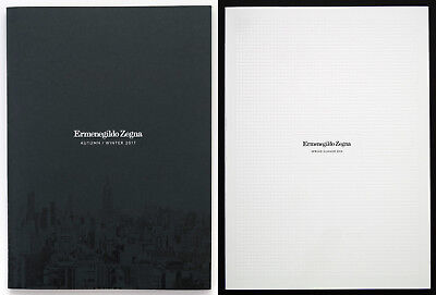 Lot of 2 ZEGNA Catalogs 2016-2018 - NEW