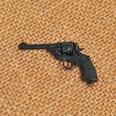 1/6 Wwii British Webley .38inches Mark Iv Revolver Gun (can't Launch) Model Toys