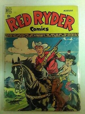 Red Ryder Comics #73  (1949) Low Grade Dell Golden Age Classic