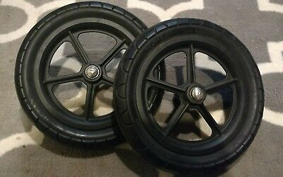 "Set of 2 Bugaboo Cameleon II Stroller Rear replacement 12"" wheels 