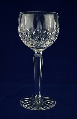 "Waterford Crystal ""LISMORE"" Wine / Hock Glass – 18.7cms (7-3/8″) Tall"