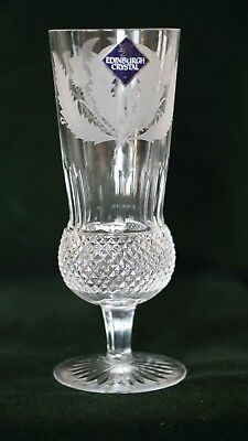 Edinburgh Crystal Thistle Pattern - Champagne Flute