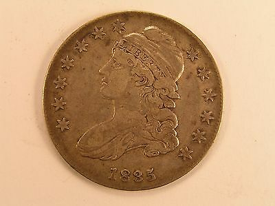 1835 50C Capped Bust Half Dollar