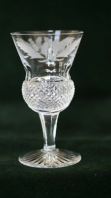Edinburgh Crystal Thistle Pattern - Sherry Glass