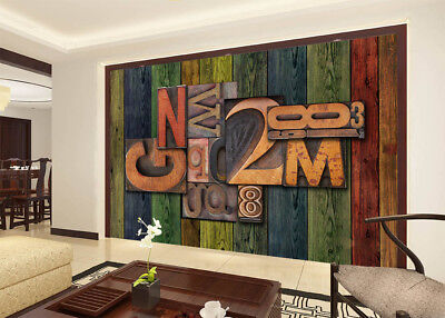Magic Of Letters 3D Full Wall Mural Photo Wallpaper Printing Home Kids Decor