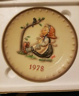 1978 Goebel, M. J. Hummel 8th Annual Plate, Hum 271, Happy Pastime