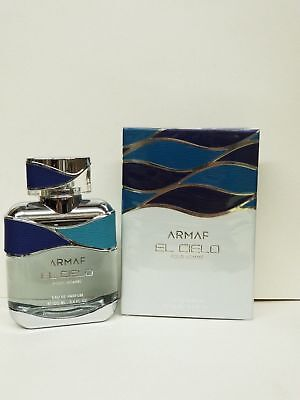 El Cielo Pour Homme 3.4Oz Edp Spray By Armaf For Men Brand New In Box