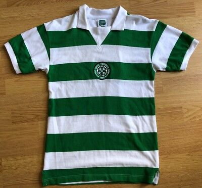 Celtic 1988,Home,Score Draw,Small Football Shirt..Good Condition..
