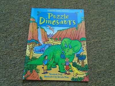 Puzzle Dinosaurs - Usborne Young Puzzles