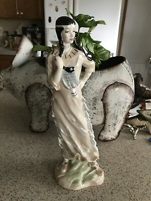 royal doulton figurines Indian Maiden