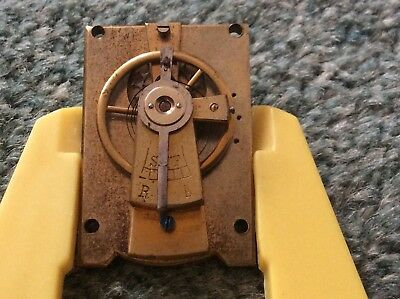 Vintage Cylinder Escapement Platform/Carriage Clock