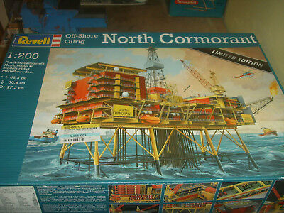 REVELL 08803 Off-Shore Oilrig NORTH CORMORANT 1:200 * Limited Edition *