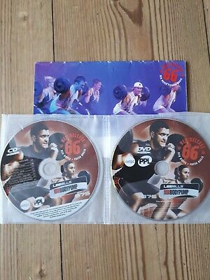 Les mills body pump 66 CD and DVD with choreography notes.