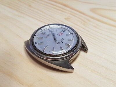 Vintage Seiko Bellmatic in good condtition sold for repair or spare parts