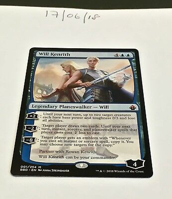 Magic the Gathering MTG Will Kenrith x1 Mythic Rare Card NM/M Battlebond