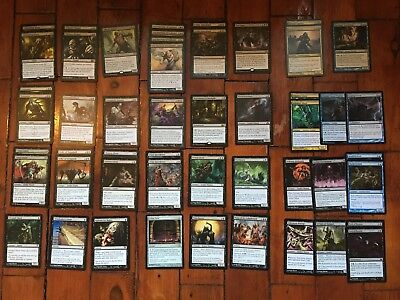 MTG B Zombie Deck with U/B Sideboard, inc. Cemertary Reaper, Undying Hoard, Gary