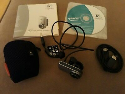 Logitech Quickcam Webcam Deluxe for Notebooks