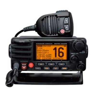 Standard Horizon Matrix Fixed Mount VHF w/AIS & GPS - Class D DSC - 30W - Black