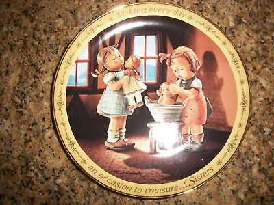M.I. Hummel Sisters Plate MAKING EVERY DAY AN OCCASION TO TREASURE